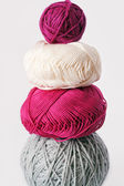 Balls of yarn for knitting — Stock fotografie