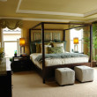 Luxury master bedroom - Foto Stock