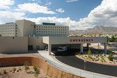 Emergency hospital building — Zdjęcie stockowe