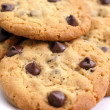 Chocolate chip cookies — Stockfoto #4777458
