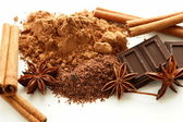 Cocoa spice — Stock Photo
