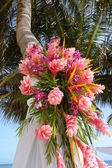 Bouquet de mariage de plage — Photo