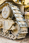Part bulldozer — Stock Photo