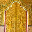 Golden door — Stock Photo