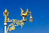 ángel polo lámpara — Foto de Stock