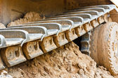 Parça buldozer — Stok fotoğraf