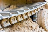 Track bulldozer — Stock Photo