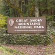 Great-Smoky-Mountains-Nationalpark — Stockfoto