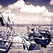 Jimbaran harbour — Stock Photo