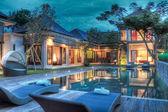 Tropikal villatropische villa — Stok fotoğraf