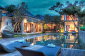 Tropische villa — Stockfoto