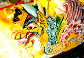 Dragon statue — Stock Photo