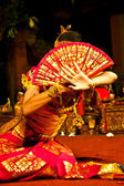 Legong dancer — Stock Photo