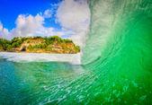 Padang padang wave — Stock Photo