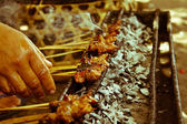 Bali sate — Stock Photo