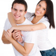 Beautiful young couple — Stock Photo #4789858