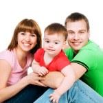 Happy family — Stock Photo #4927408