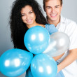 Beautiful young couple — Stock Photo #4941423