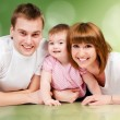 Happy family — Stock Photo #4941467