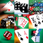 Set of casino — Stock Photo