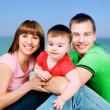 happy family — Stock Photo