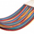 Colorful hammock — Stock Photo