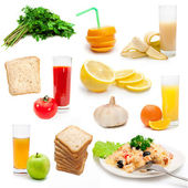 Dietary bioproducts — Stock Photo