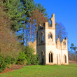 Castle Folly aagainst blue sky — Stock Photo