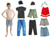 Dress-Up Teen Clothes — Stock Photo