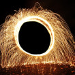 Stock Photo: Circle of Sparks