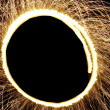 Circle of Sparks — Stock Photo