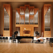 Massive pipe organ — Stockfoto
