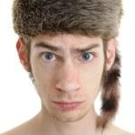 Raccoon Hat — Stock Photo #4624425