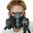 Hardcore Gasmask — Stock Photo #4624610