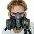 Stock Photo: Hardcore Gasmask
