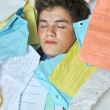 Too Much Homework Assignments — Stock Photo