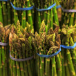 Asparagus Bundles — Stock Photo