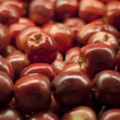 Stock Photo: Red Apple Pile at Supermarket