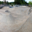 Outdoor Skatepark Panorama — Stock Photo