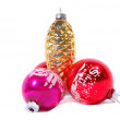 Stock Photo: Antique ornaments display