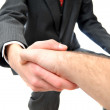 Royalty-Free Stock Photo: Business deal handshake