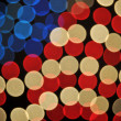 Foto de Stock  : Abstract Bokeh American Flag Background