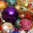 Christmas Ornaments Assortment - Stock Photo