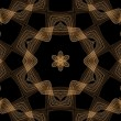 Royalty-Free Stock Photo: Chocolate Seamless Fractal Pattern