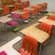 Empty School Desks — Stock Photo #4627844