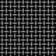 Metal Wire Mesh Grid — 图库照片