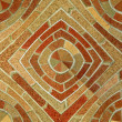Abstract Seamless Brick Tile Pattern - Stock Photo