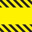 Stock Photo: Caution Construction background
