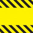 Caution Construction background - Stock Photo