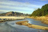 Beach River — Stock Photo